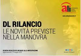 DL RILANCIO: le novità previste dalla manovra – FIRST Abruzzo Molise