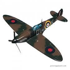 Daron Worldwide Spitfire IX RAF Johnnie Johnson Model Airplane
