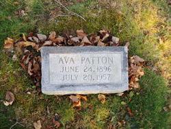 Ava James Patton (1896-1957) - Find A Grave Memorial