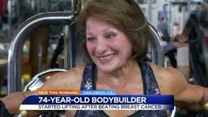 Adeline Williams, 74-year-old bodybuilder & breast cancer survivor ...