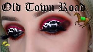 old town road makeup look x