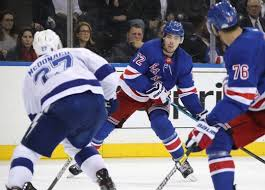It was all kids for the Rangers as Kakko, Fox, and Chytil score in win over  Lightning