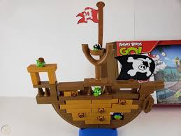 Angry Birds Go! Pirate Pig Attack Game Jenga Hasbro W/ extra ...
