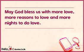 god bless us more love more reasons to love and more
