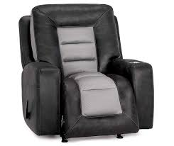 stratolounger airflow gray recliner