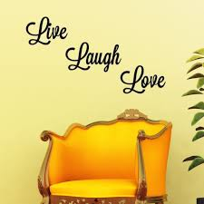 Live Love Laugh Wall Decal Graphic Decal The Walls