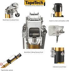 automatic taper tapetech bazooka