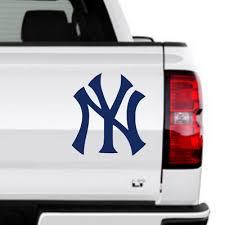 New York Yankees Logo Ny Vinyl Decal Ebay