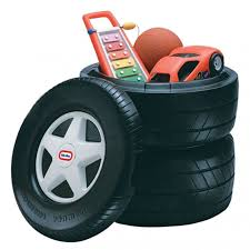 Little Tikes Classic Racing Tire Toy Chest Little Tikes