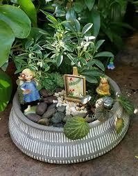 fairy garden work at starkie bros