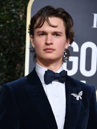 ansel elgort makeup king of the golden