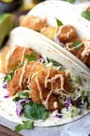 Crispy Shrimp Tacos with Cilantro Slaw ...
