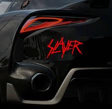 Slayer Vinyl Decal Sticker 15cm Stickers Aliexpress