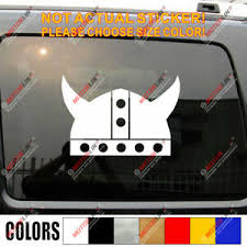 Viking Warrior Helmet Decal Sticker Norse Nord Norway Car Vinyl Pick Size B Ebay