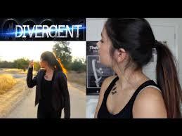 divergent tris makeup outfit hair