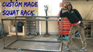 custom made squat rack you