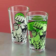 Hulk Colour Change Glass Marvel Avengers Drinkware Paladone