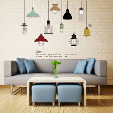 Diy Pendant Lamp Wall Sticker Vinyl Love Wall Decal Home Living Room Sofa Decor For Sale Online