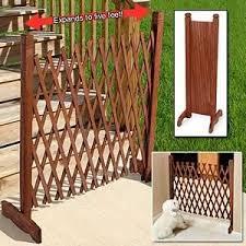 Amazon Com Expanding Wooden Fence Outdoor Decorative Fences Garden Outdoor