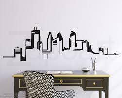 Minneapolis Skyline Silhouette Google Search Minneapolis Skyline Vinyl Wall Decals Chicago Wall