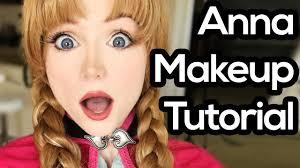 anna from frozen makeup tutorial