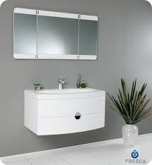 energia white modern bathroom vanity w