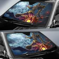 God Of War Car Sun Shades Amazing Gift Ideas T042020 Gearforcar