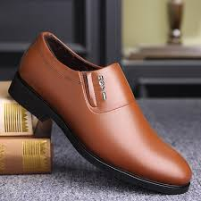 fashion men shoes leather shoes