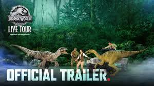 Jurassic World Live Tour