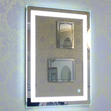bath vanity wall mirror touch cosmetic
