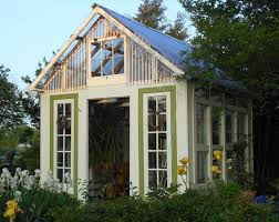 greenhouses made from old windows