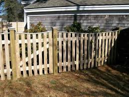 Cedar Picket Fence Pro Fence Company Cape Cod Fence Boston Fence Picket Fence Cape Cod Fencing Companies