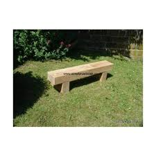 rustic oak garden benches outdoor