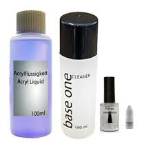 professional acrylic kit with colour