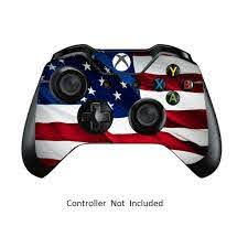 Skins Stickers For Xbox One Games Controller Xbox 1 Remote Protective Cover Wired Wireless Gamepad Decal Stars N Stripes Walmart Com Walmart Com