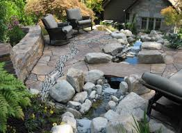 stone patio ideas for your backyard