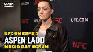 Aspen Ladd Didn't Get Too 'Head Casey' Over First Loss - MMA Fighting -  YouTube