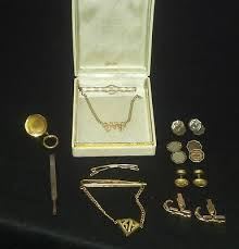 vine mens jewelry lot anson black