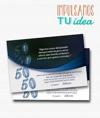 Cumple Adultos Tarjeta Cumple 50 Para Imprimir Invitacion