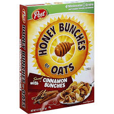 honey bunches cereal with sweet