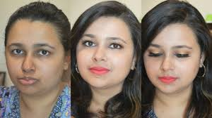 simple party makeup at home in hindi