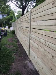 I Almost Built A Horizontal Fence By Myself