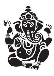 Ganesh Vinyl Decal Ganesha Ganapati Vinayaka Various Sizes And Etsy