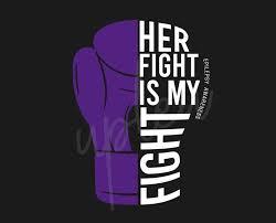 Her Fight Is My Fight For Epilepsy Svg Epilepsy Awareness Svg Purple Ribbon Svg Fight Cancer Svg Awareness Tshirt Svg Digital Files Buy T Shirt Designs