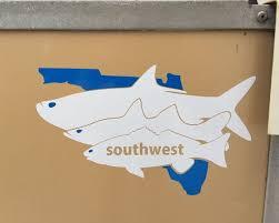 Tarpon Snook Redfish Florida Decal Sticker Fish Fishing Flats Etsy Custom Vinyl Decal Red Fish Vinyl Decals