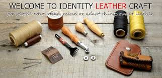 leather craft productaterials