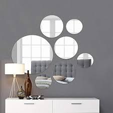circle mirrors wall decor com