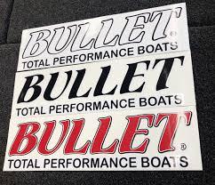 Bullet Bumper Sticker Decal Small Truck Window