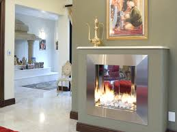 built in gas or bio fuel fireplaces