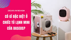 REVIEW | TỦ LẠNH MINI BASEUS ZERO SPACE 8L - YouTube